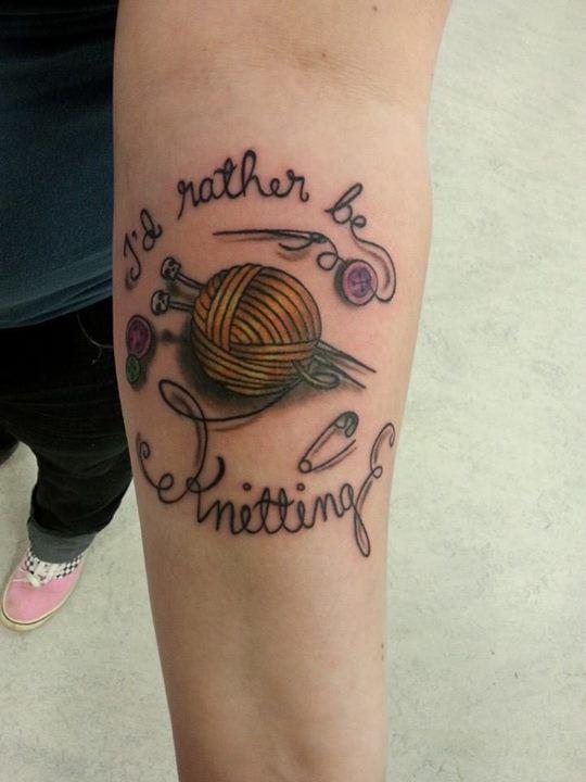 Knitting Tattoo Sleeve : Knitting tattoo ideas pinterest