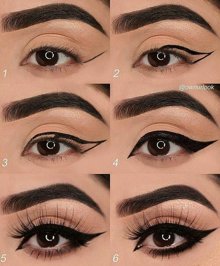 Cc @theemakeupgram – Eye makeup tutorial – 👸 ® √⤵ •💠 •💠💠 …..