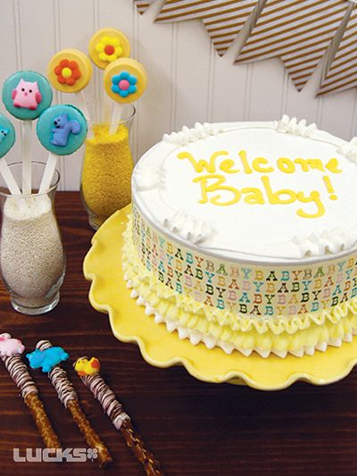 Baby Shower Cakes Dairy Queen ~ Best images about celebrating baby on pinterest
