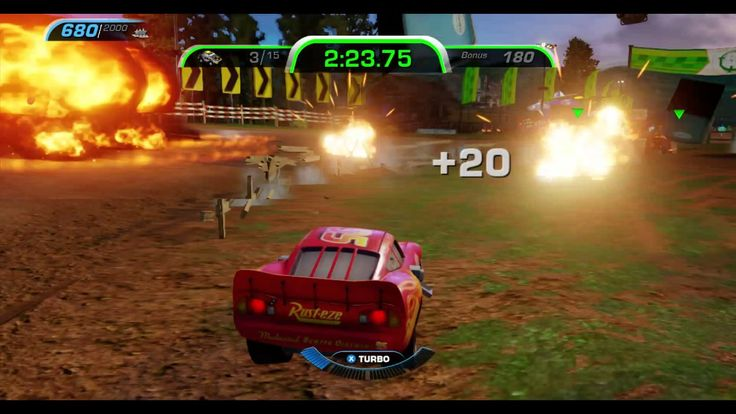 CARS 3 GAMEPLAY -Lighting McQueen- TAKEDOWN - THUNDER HOLLOW BACK COUNTR...