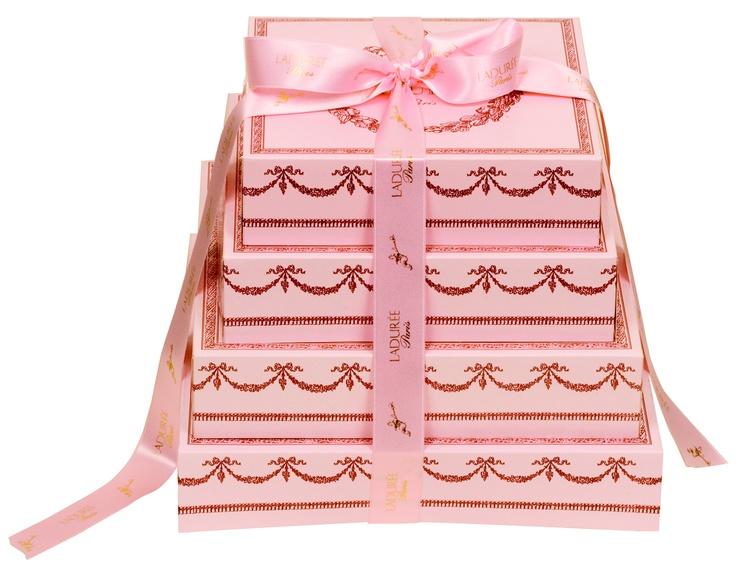 Pink Laduree boxes