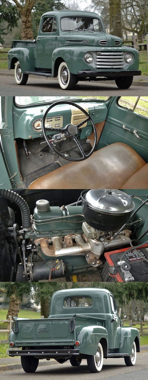 1949 Ford F-1 Pickup #classictrucks