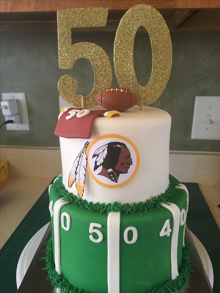 Redskins Cake