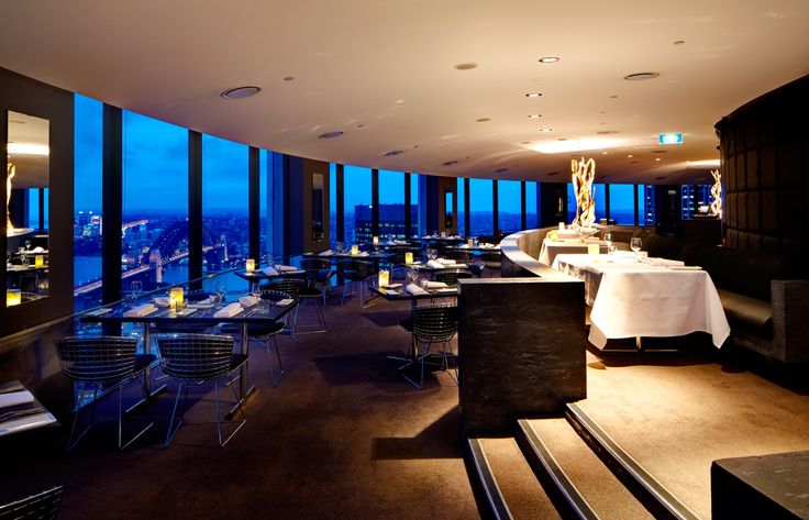 O Bar and Restaurant. Amazing food and an even more amazing view. Chef: Michael Moore.