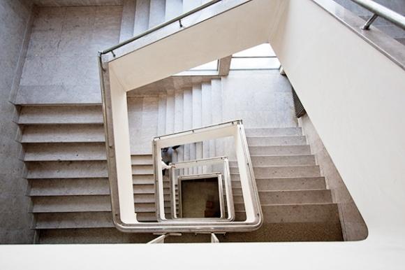 Escadaria da Faculdade de Letras, Coimbra, Portugal