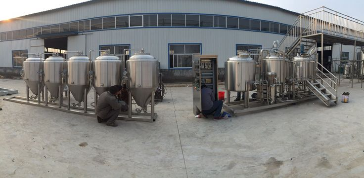 Equipo Nano cerveceria de 300 litros por lote