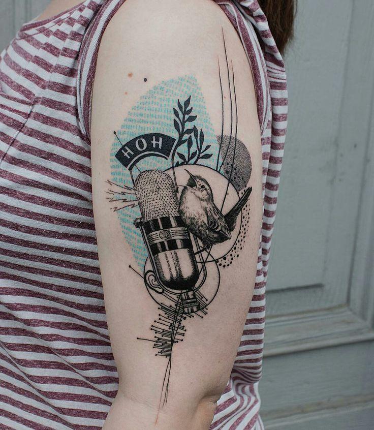 Tattoo done by: @koittattoo #bird #birdtattoo #pajaro #tatuaje