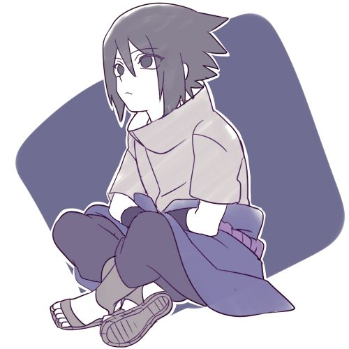 <3 Sasuke - by 空きら, [pixiv]