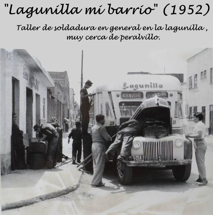 Calle de la célebre colonia de La Lagunilla.