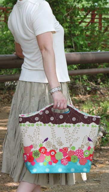The Camilla Insulated Bag Sewing Pattern - by Kay Whitt
