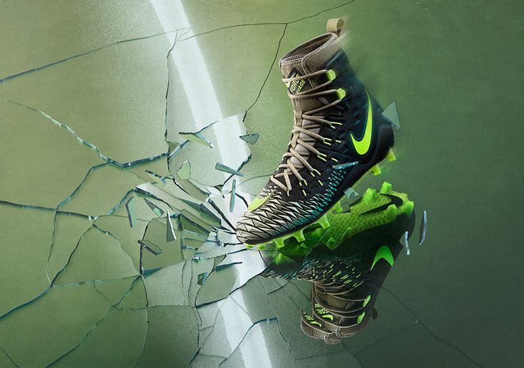 The Nike Force Savage Elite Football Cleat was inspired by the Incredible Hulk and made for NFL linemen to add more personality and support to their game.