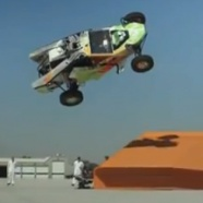 Hot Wheels – World Record Corkscrew Jump - click for video