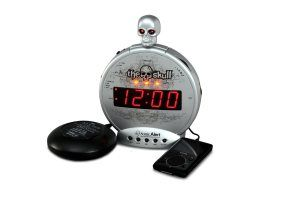 Sonic Alert The Skull With Bone Crusher, Silver and Black > http://computer-s.com/... http://computer-s.com/alarm-clocks/extra-loud-alarm-clock-4-best-alarm-clocks-for-heavy-sleepers/