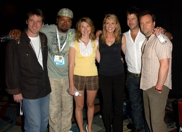 Christopher Judge, Jewel Staite, Amanda Tapping, Ben Browder, Joe Flanigan and David Hewlett