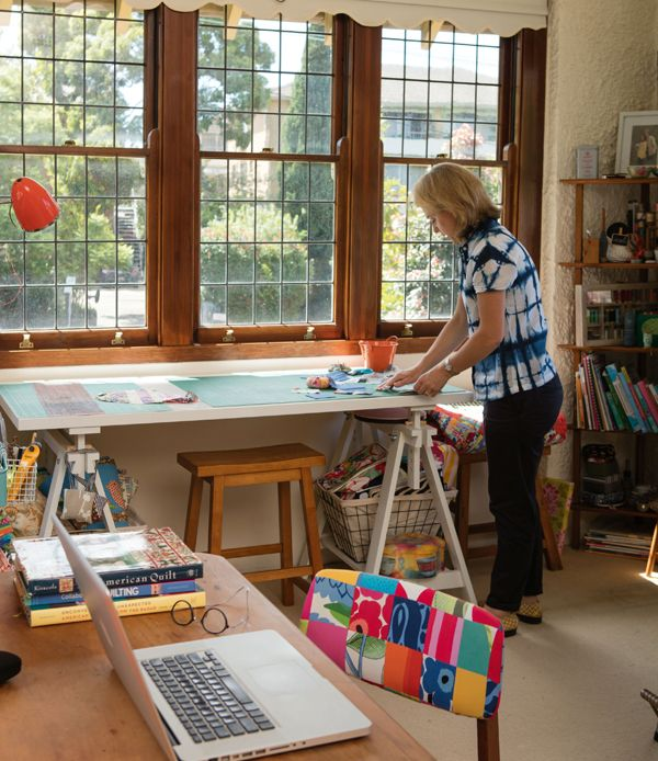 In the Studio with Megan Manwaring. Link to my article first published in Quilters Companion issue 79.