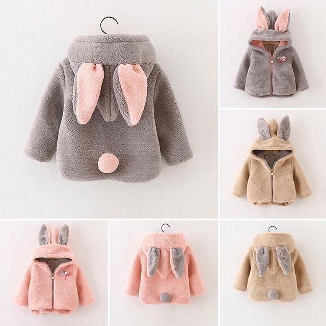 WEBSTA @ mommodesign - Bunny coat by popreal.com #kids #kidswear #coat#bunny