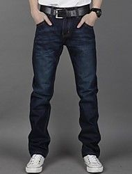 """Men's Casual/Work Pure Jeans Pants ( Denim ) – USD $ 26.39 from """"lightinthebox"""", utilize promotional codes and coupon codes for discounted price."""