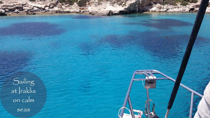 July 2nd, 2017. Sailing at Iraklia on calm seas.  Come join us at: http://www.NaxosSailing.com  #naxossailing #annabellayacht #summer #naxosisland #greece #naxos #naxosactivities #sailing #sailinggreece