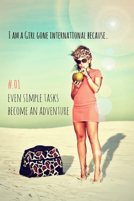 I am a girl gone international! #virtualassistantservices