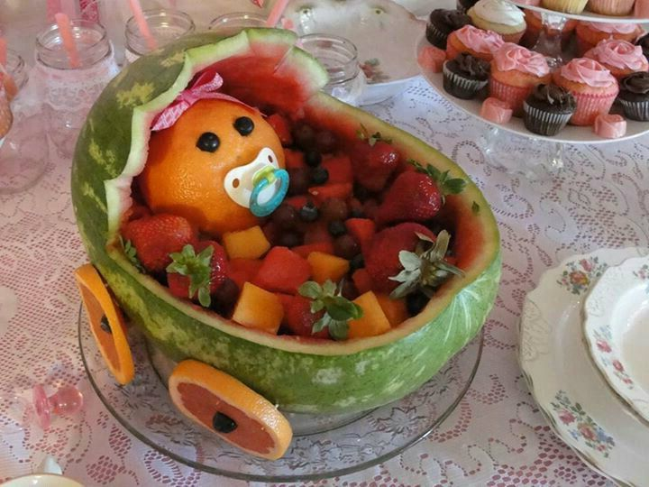 baby watermelon carriage