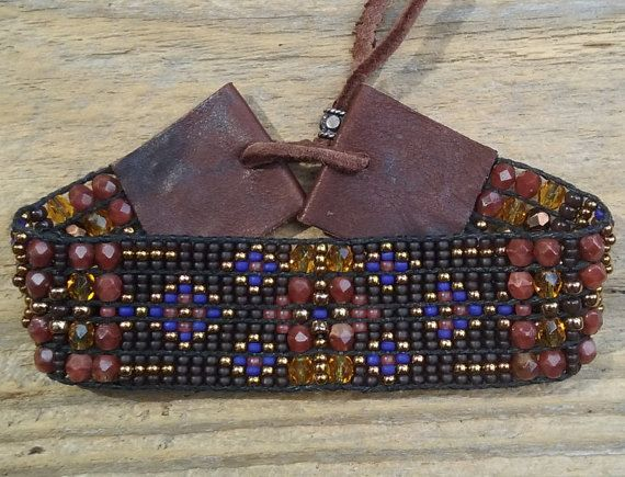 Bead woven bracelets,Seed bead loomed bracelets, Native American inspired,Southwest chic,Statement jewelry,Sterling silver,Boho,gift idea