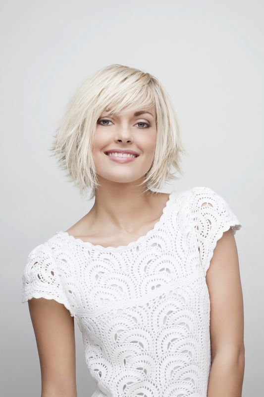 Coupe de cheveux court Lucie Saint Clair