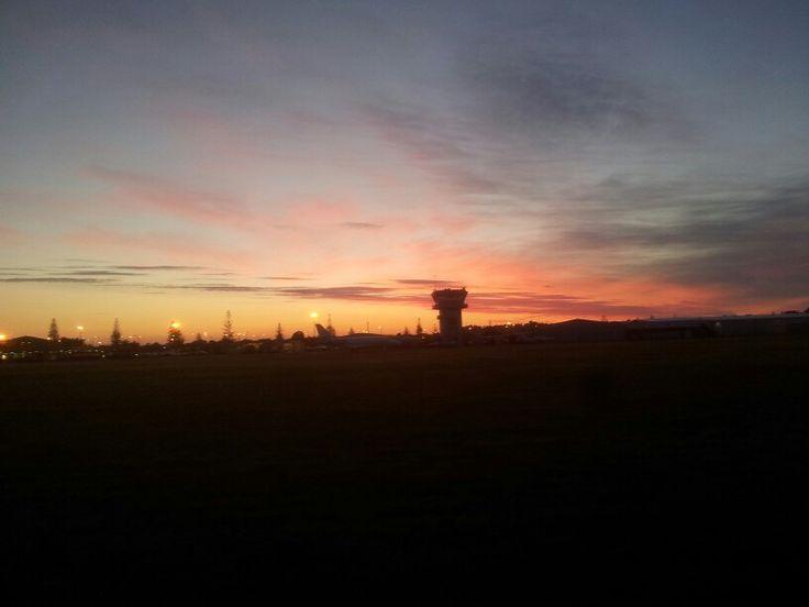 Sunrise at HB Airport