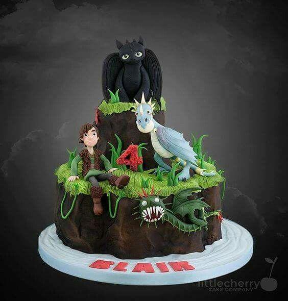 Un delicioso pastel de Dragones