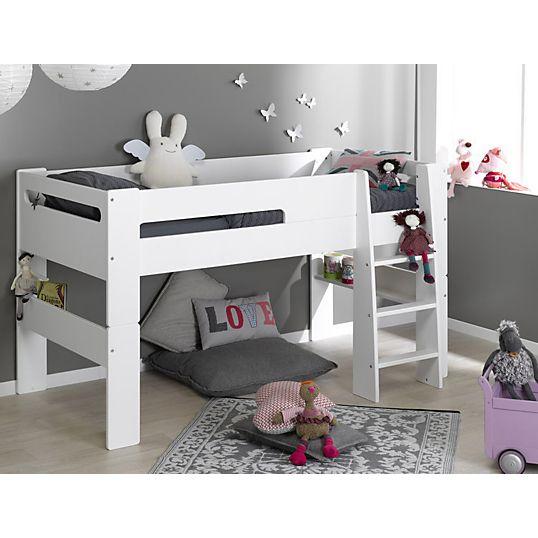 Lit mi-haut Scoop 90 x 190 cm - Lits enfant - Chambres enfants - Chambre Rangement
