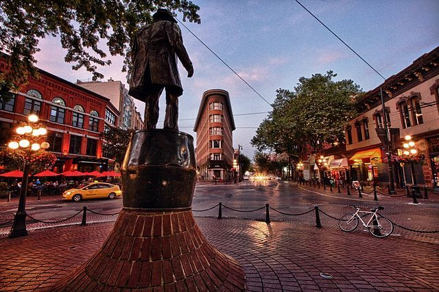 About Gassy Jack - Gastown, Vancouver - News - Bubblews