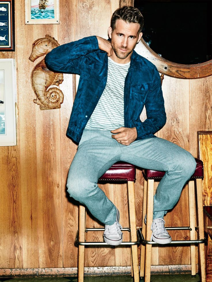 mens health style ryan reynolds - Google Search