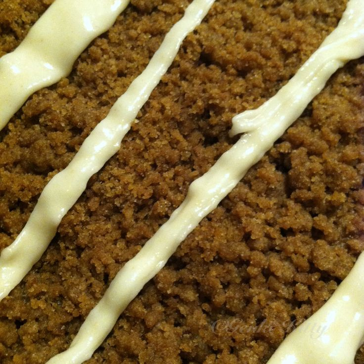 Zoe Inspired But-R-Iite Pumpkin Coffee Cake Recipe Vegan