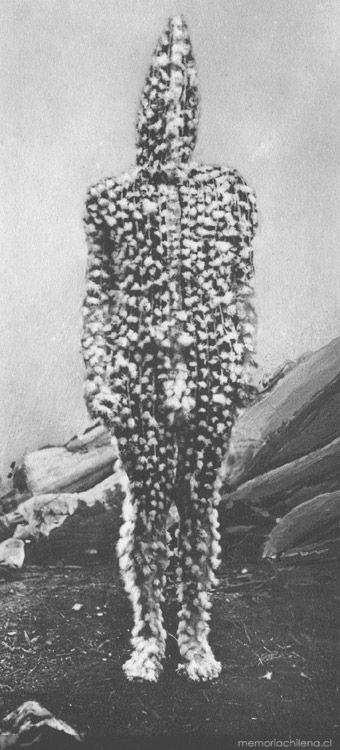 K'terrnen, espíritu selk'nam hijo de Xalpen, Hain de 1923