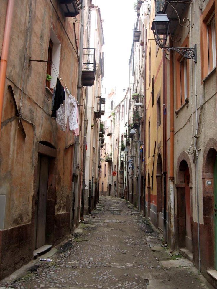 Back street, Bosa, Sardinia