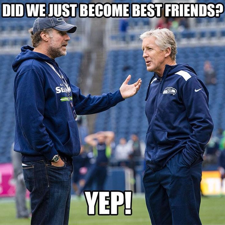 Will Ferrell at the Seahawks Games!