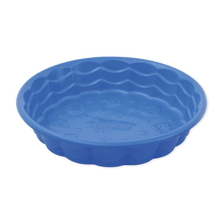 Option for small wading pool september week 4 3s 5s for Pool plastik