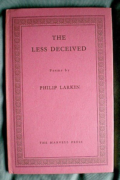 Bookride: Philip Larkin, The Less Deceived 1955