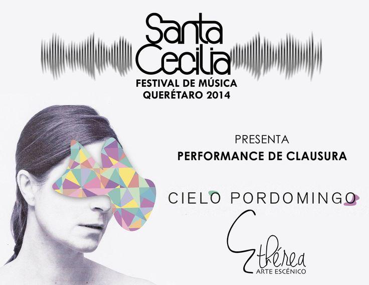 Cielo Pordomingo - concierto en #FestivalSantaCecilia #Queretaro