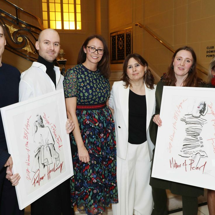 Palmer Harding and Mother of Pearl Win the BFC/*Vogue* Fashion Fund Prize