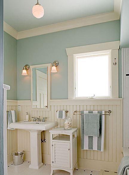 Bathroom Wall Treatment Home Decor Design ℭƘ Irvinehomeblog