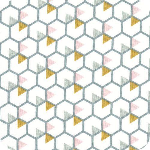 Honey bee moutarde-ciel-poudre