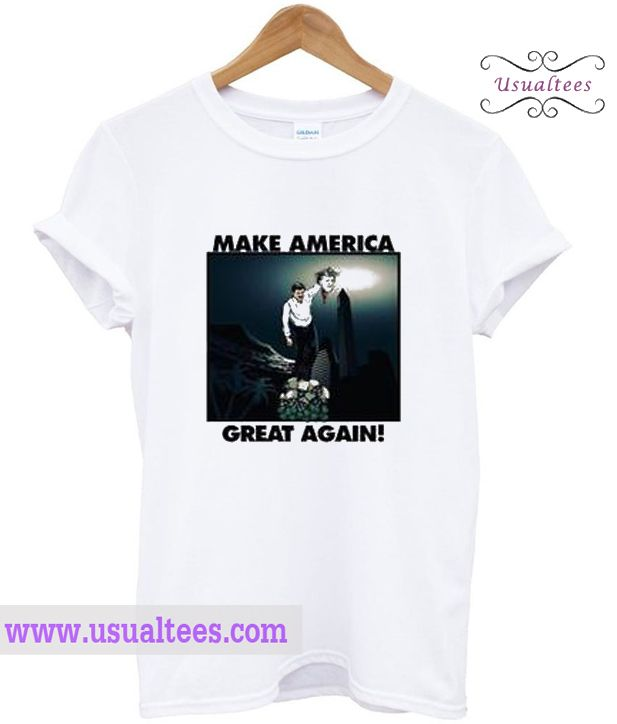 Make America Great Again T Shirt from usualtees.com This t-shirt is Made To Order, one by one printed so we can control the quality.