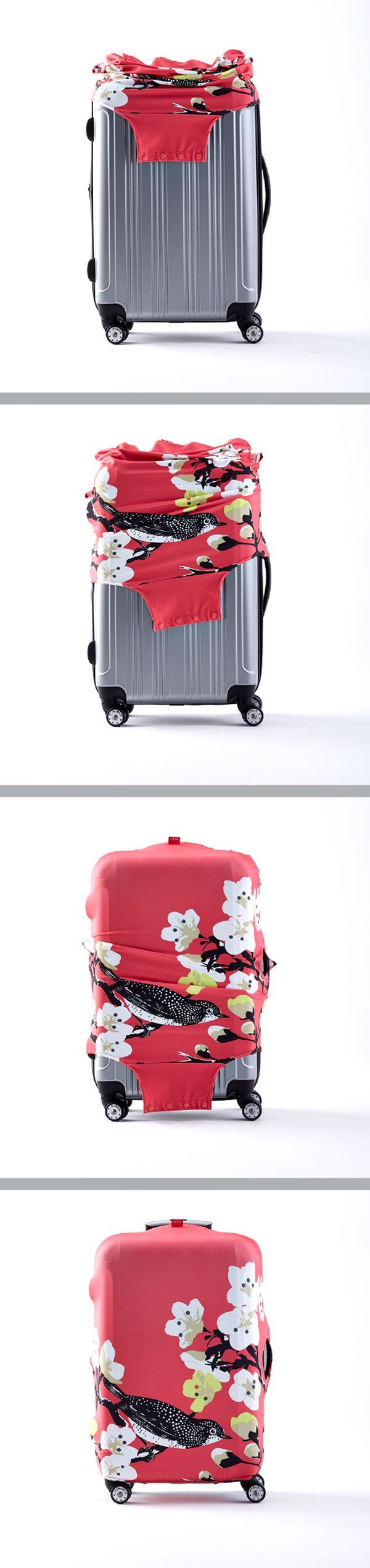 We've got your luggage COVERED with our fabulous Luggage Colors in many beautiful patterns!