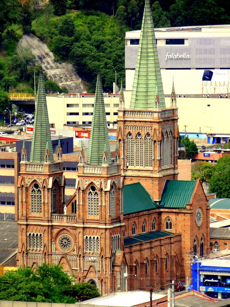 Medellín is home to some of the oldest churches in South America. Most of them are catholic churches, huge structures built in the late 1800's. #church #catholic #Medellín #colombia #history #travelandmakeadifference