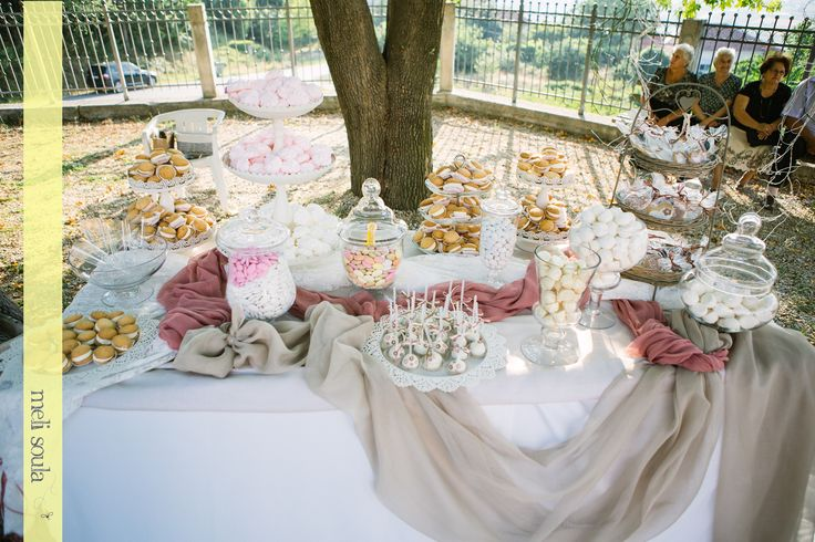 Romantic Wedding #candybar