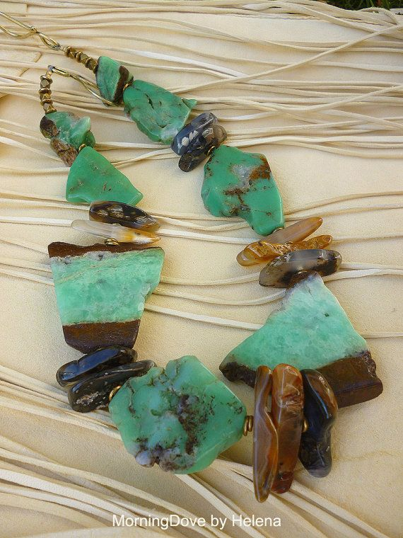 Organic Design Turquoise green and velvety by MorningDoveDesign, $135.00