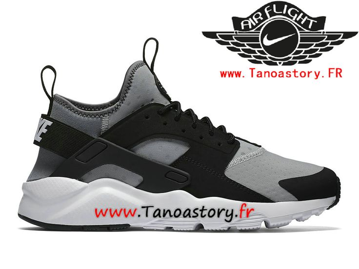 Chaussures Homme Nike Air Huarache Ultra Prix Pas Cher Gris Noir 819685_010-819685_010-Nike Basketball - Nike Site Officiel | Tanoastory.fr