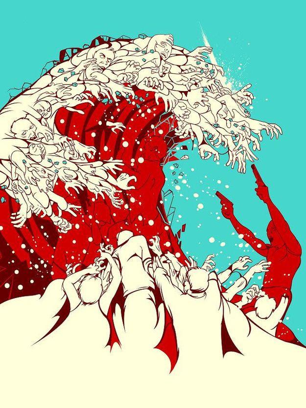 """Zombie Art Sam """"Sho"""" Ho """"The Last Big Wave"""""""