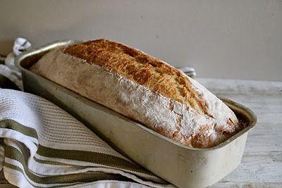 No knead bread i form