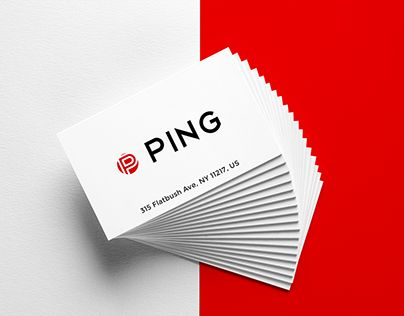"""Check out new work on my @Behance portfolio: """"Ping Logo - 30 day Logo Challenge"""" http://be.net/gallery/59262457/Ping-Logo-30-day-Logo-Challenge"""